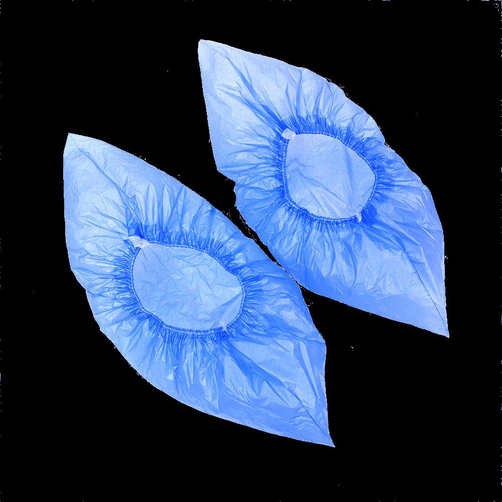 Бахилы полиэтиленовые гладкие ПНД вид сверху