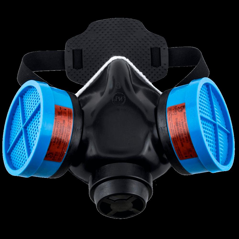 Полумаска Бриз-2201(РПГ) фильтр А1B1E1K1