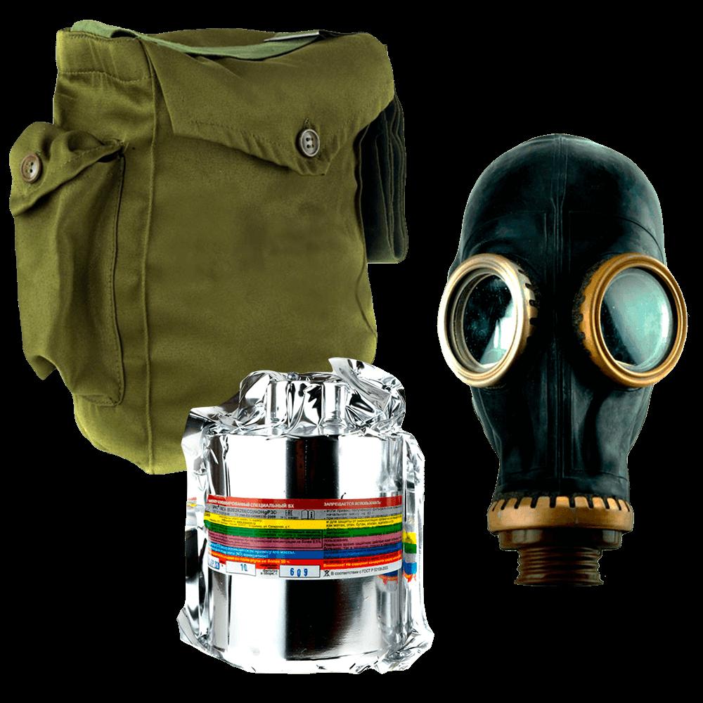 Промышленный противогаз Бриз-3301(ППФ) А2В2Е2К2SX(CO)NOP3D маска ШМП