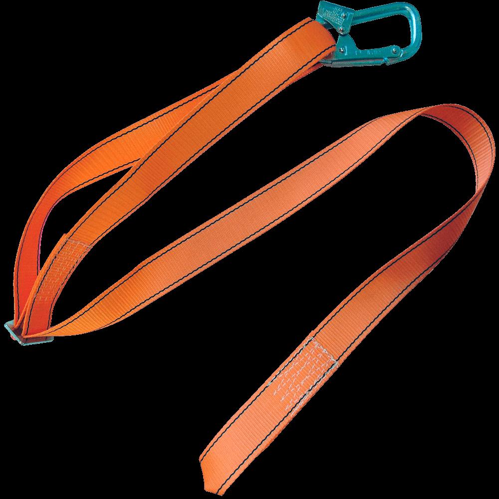 Регулируемый строп А с монтажным карабином и крепежной петлей