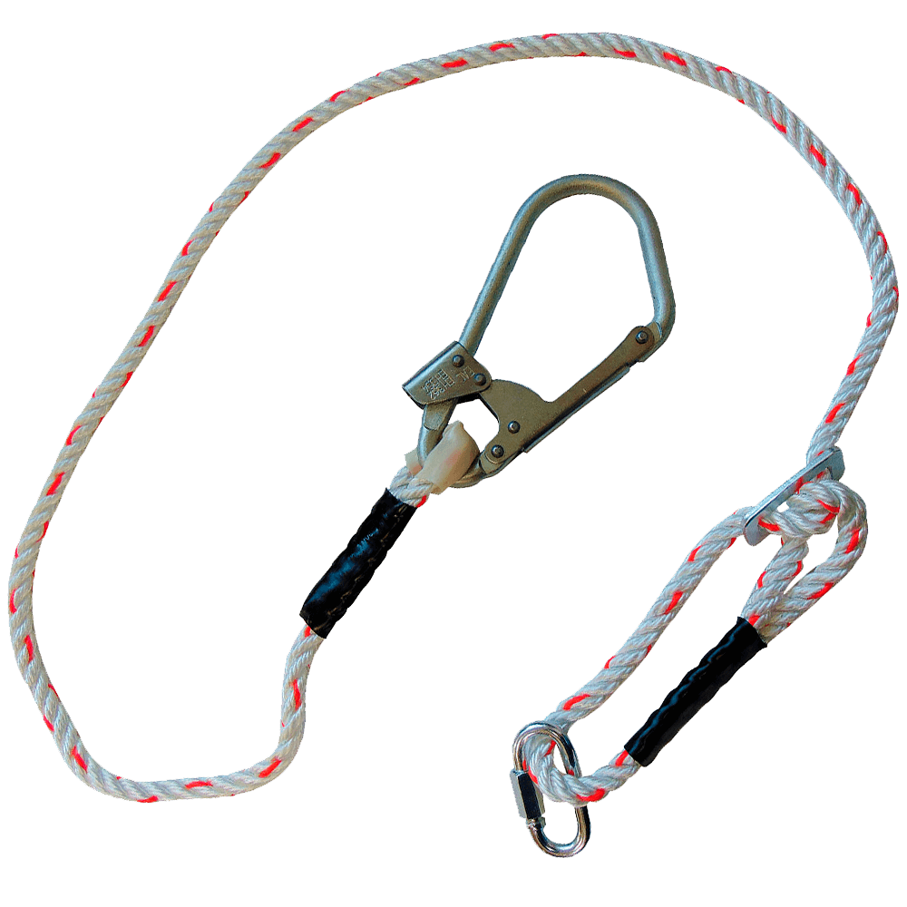 Регулируемый строп В (канат) с монтажным и соединительным карабином