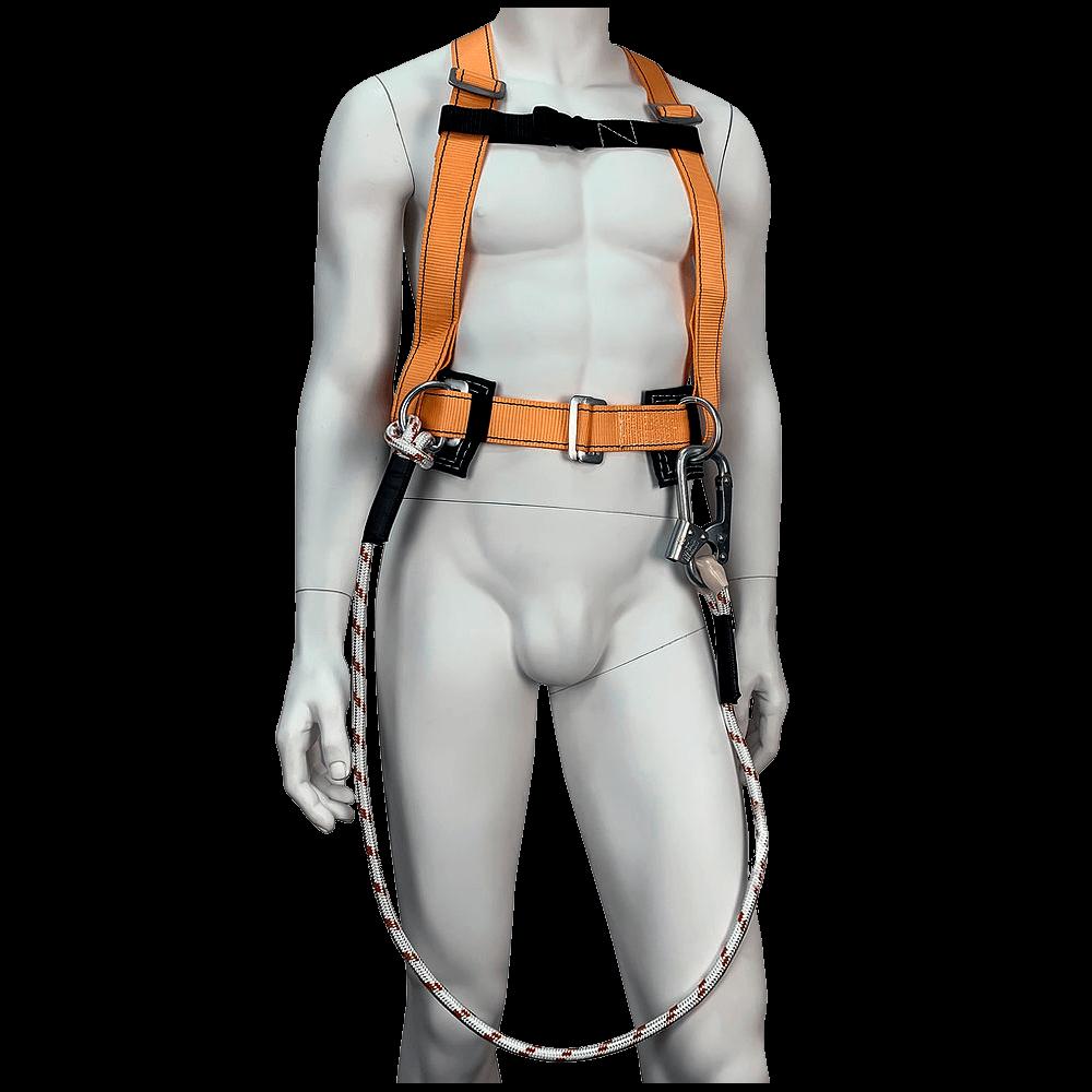 Удерживающая привязь УС-2ВД со стропом (верёвка) спереди