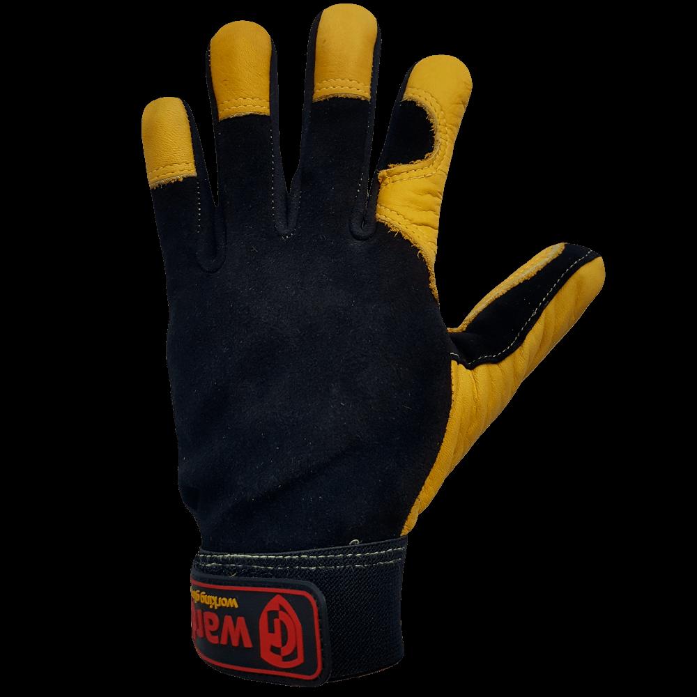 Антивибрационные кожаные перчатки Gward Argo