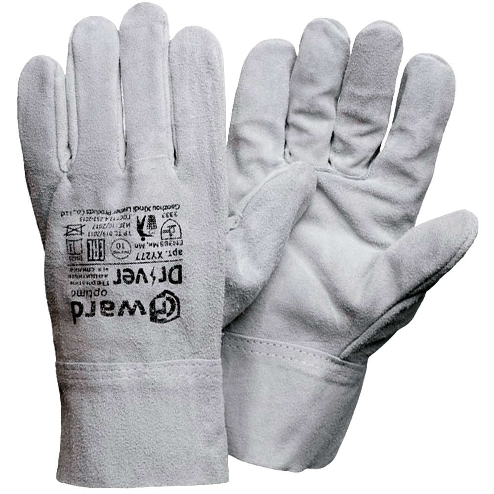 Перчатки цельноспилковые без подкладки Gward Driver