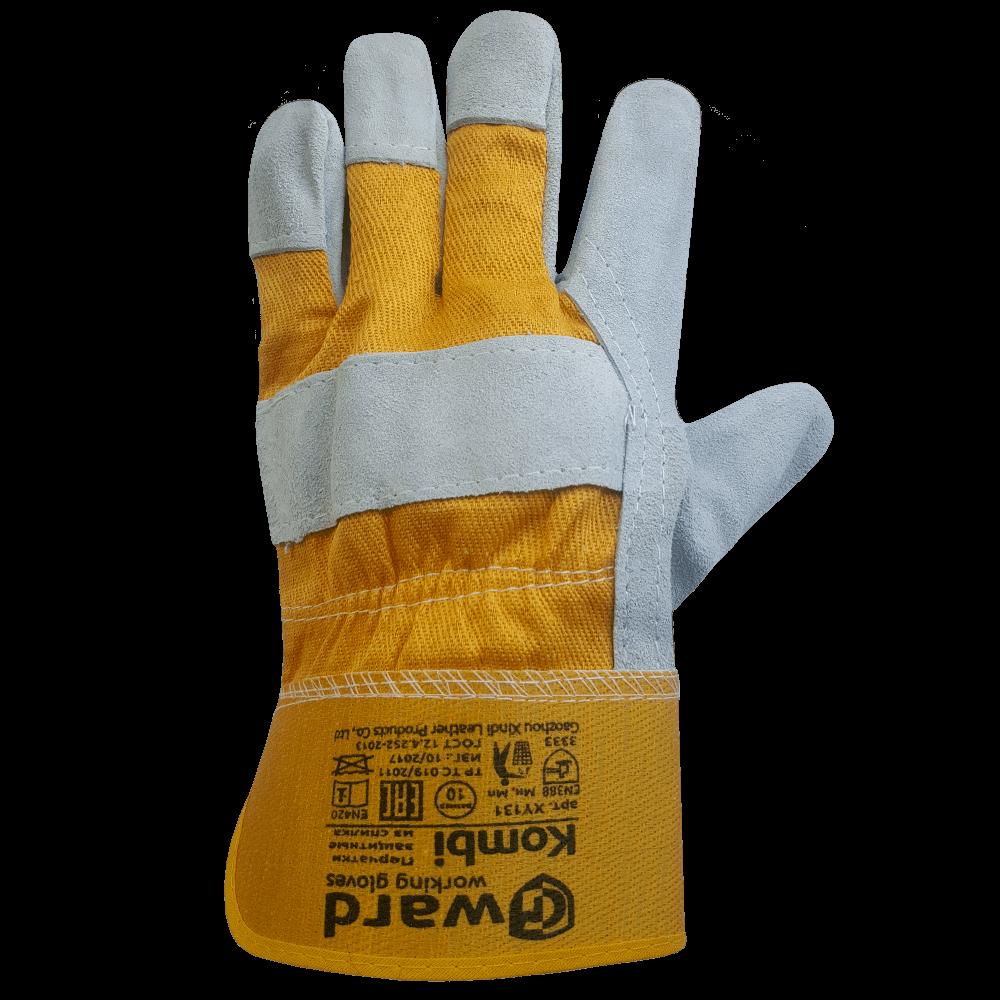 Перчатки комбинированные со спилком Gward Kombi