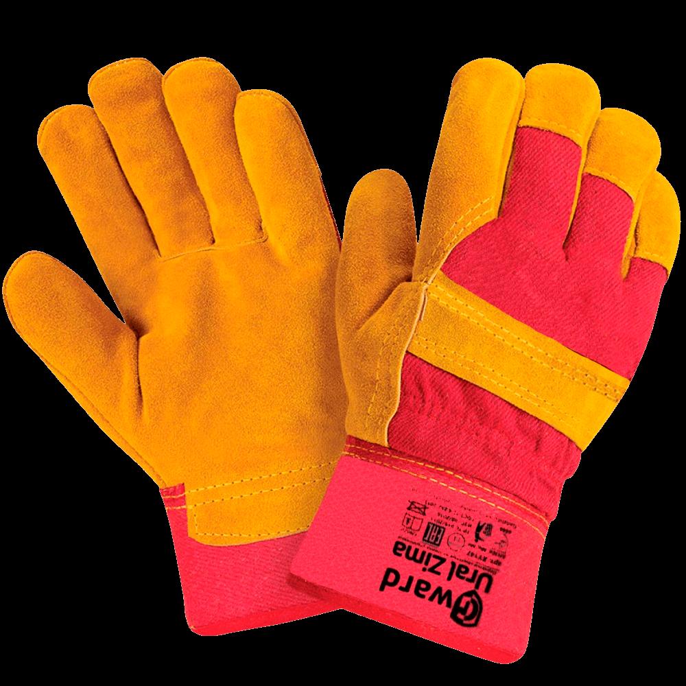 Перчатки комбинированные утепленные Gward Ural Zima