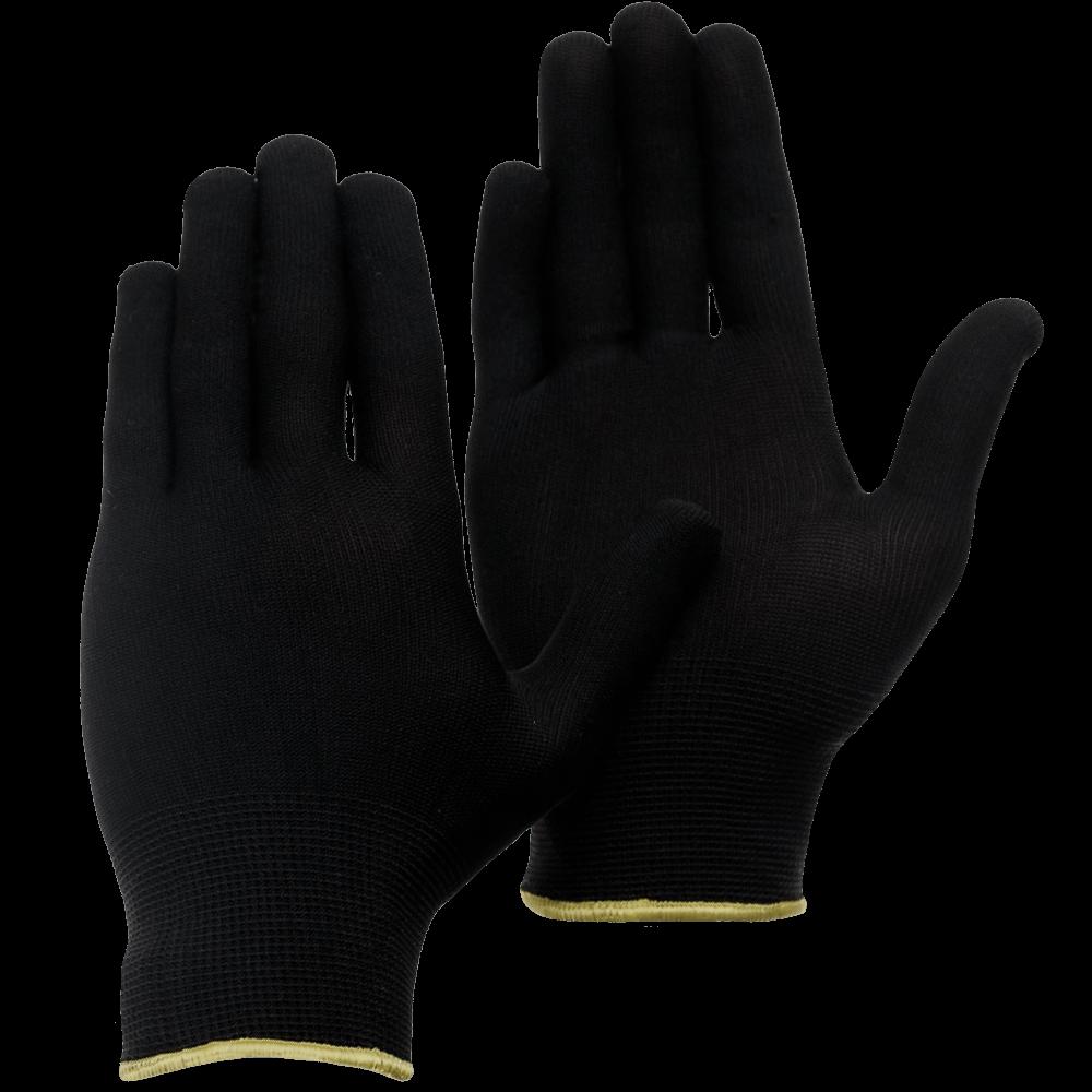Перчатки нейлоновые бесшовные Gward Touch Black