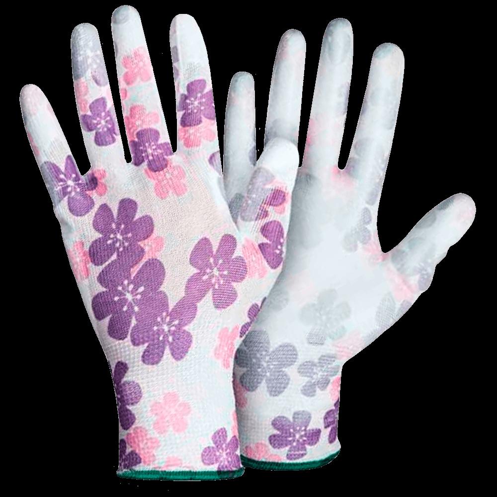 Перчатки нейлоновые с полиуретаном Sakura PU