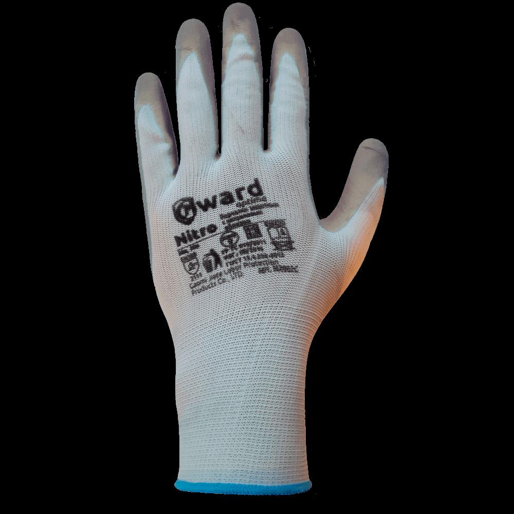 Перчатки нейлоновые с нитриловым покрытием Gward Nitro