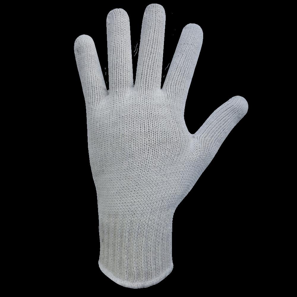 Перчатки рабочие трикотажные с ПВХ Профи