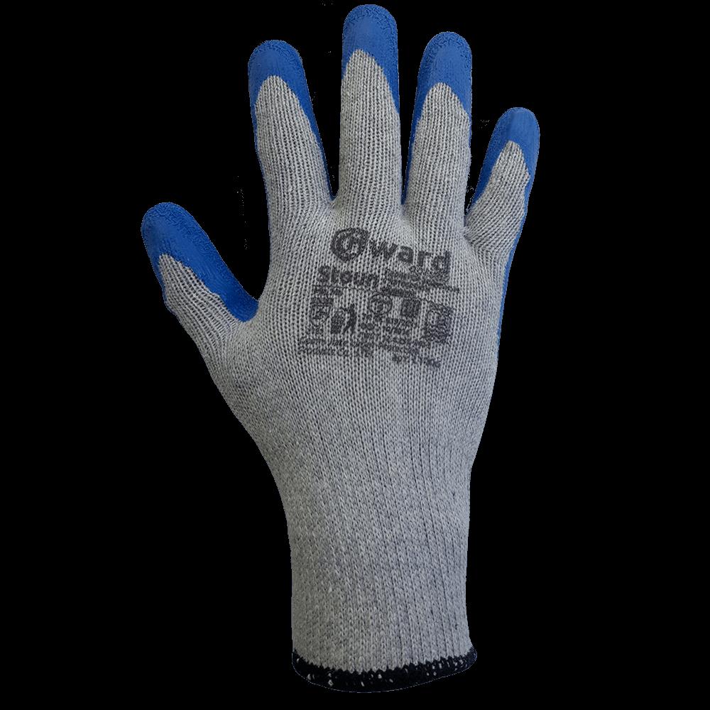 Перчатки трикотажные с рельефным латексным покрытием Gward Stoun