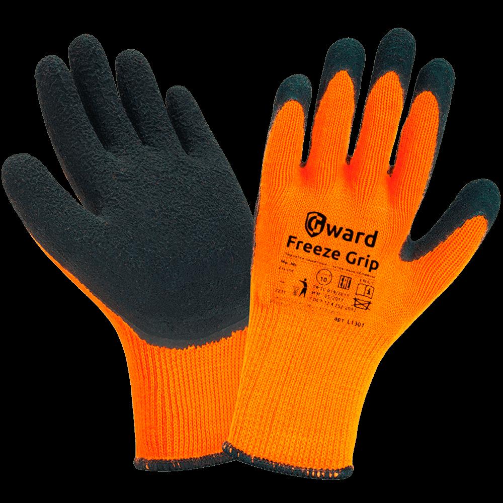 Перчатки акриловые с текстурированным латексом Gward Freeze Grip