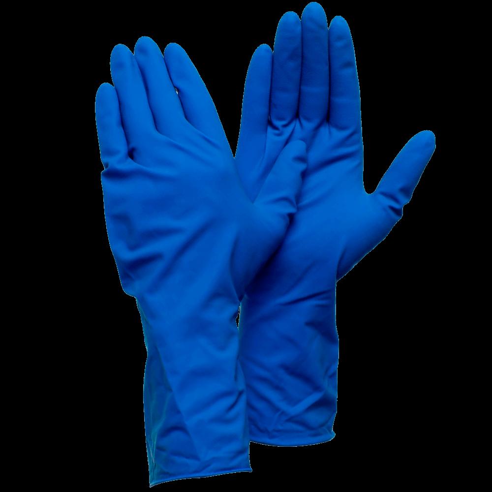 Перчатки высокопрочные латексные Deltagrip High Risk