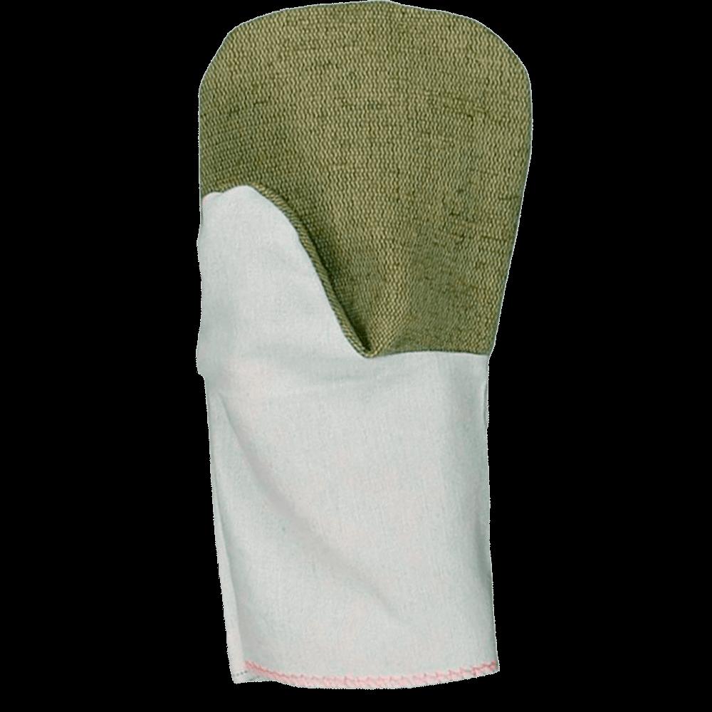 Рукавицы х/б с брезентовым наладонником рабочая поверхность