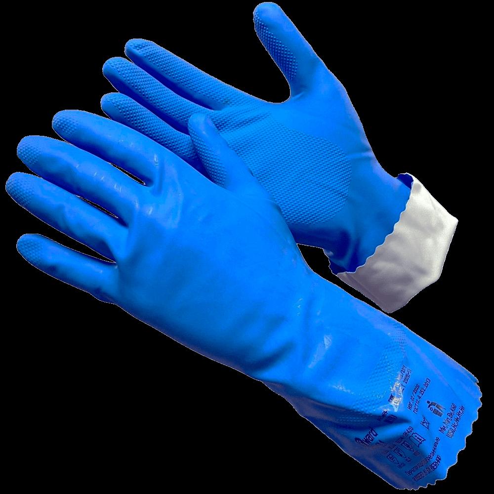 Усиленная латексная перчатка Gward Silver 1