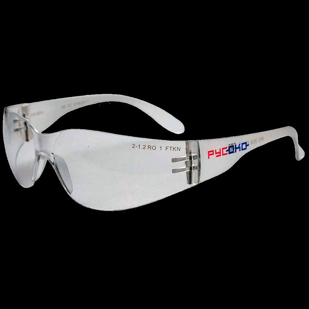 Очки защитные открытого типа РУСОКО Альфа