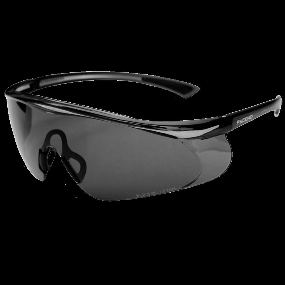 Очки защитные открытого типа РУСОКО Инфинити Грей
