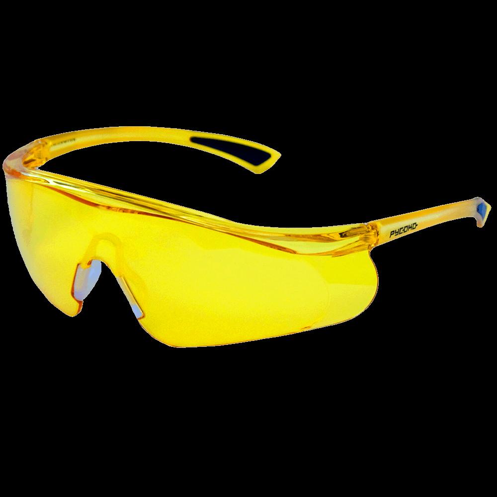 Очки защитные открытого типа РУСОКО Инфинити Контраст