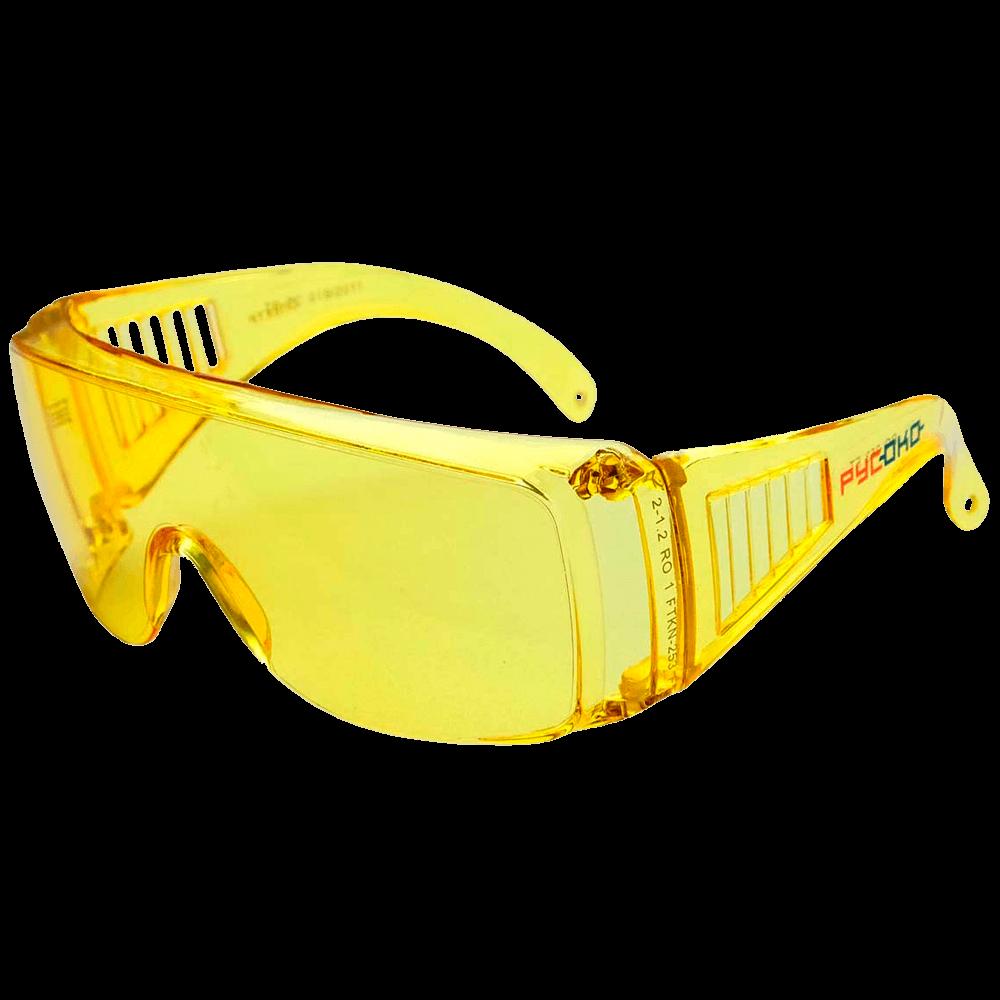 Очки защитные открытого типа РУСОКО Спектр Контраст
